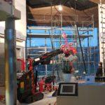 Montage Euro Glaskran in Vernier