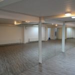 Spiegelwand Groupfitnessraum, Aarberg